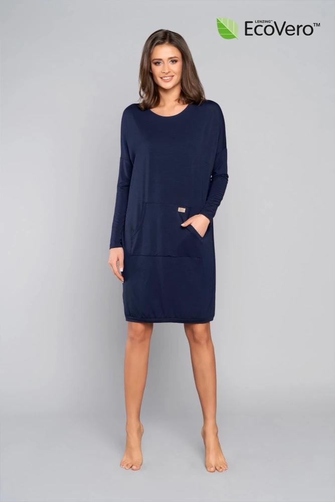 Tunika damska długi rękaw Italian Fashion Tirana ecovero homewear