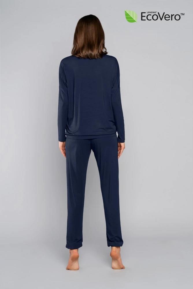 Komplet damski tirana długi rękaw długie spodnie - ecovero