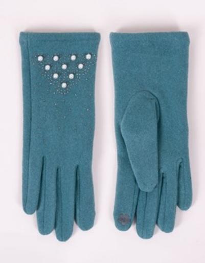 Rękawiczki damskie perełki i jety rs-0054