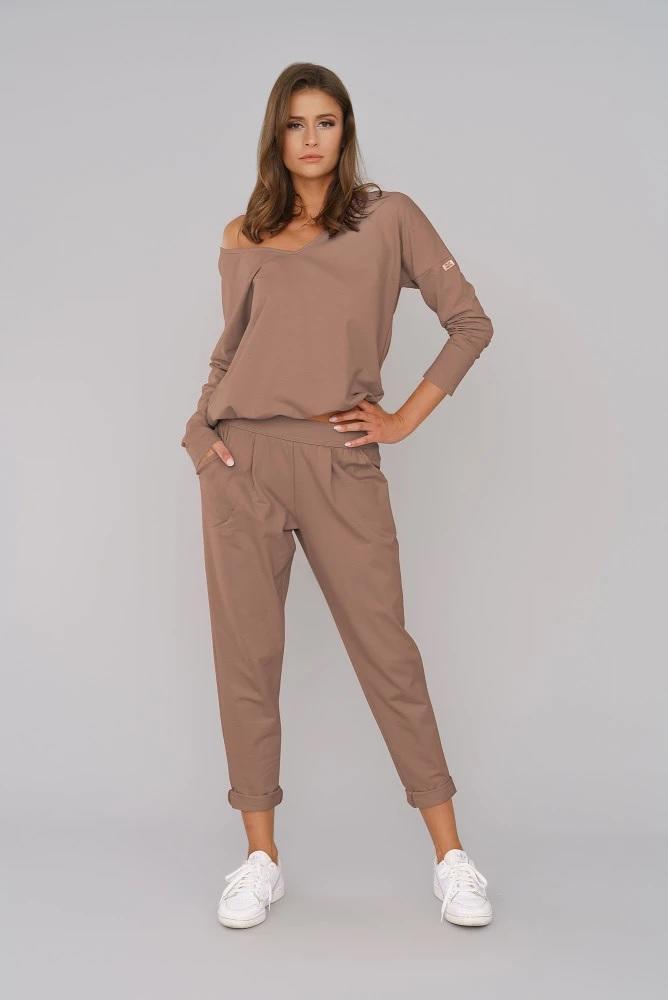 Komplet dresowy karina długi rękaw długie spodnie