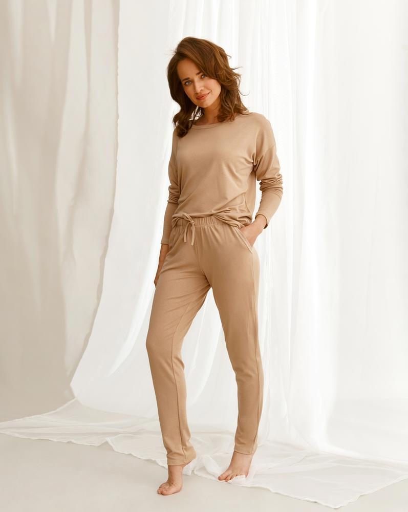 2578 piżama damska długa emily homewear aw2021
