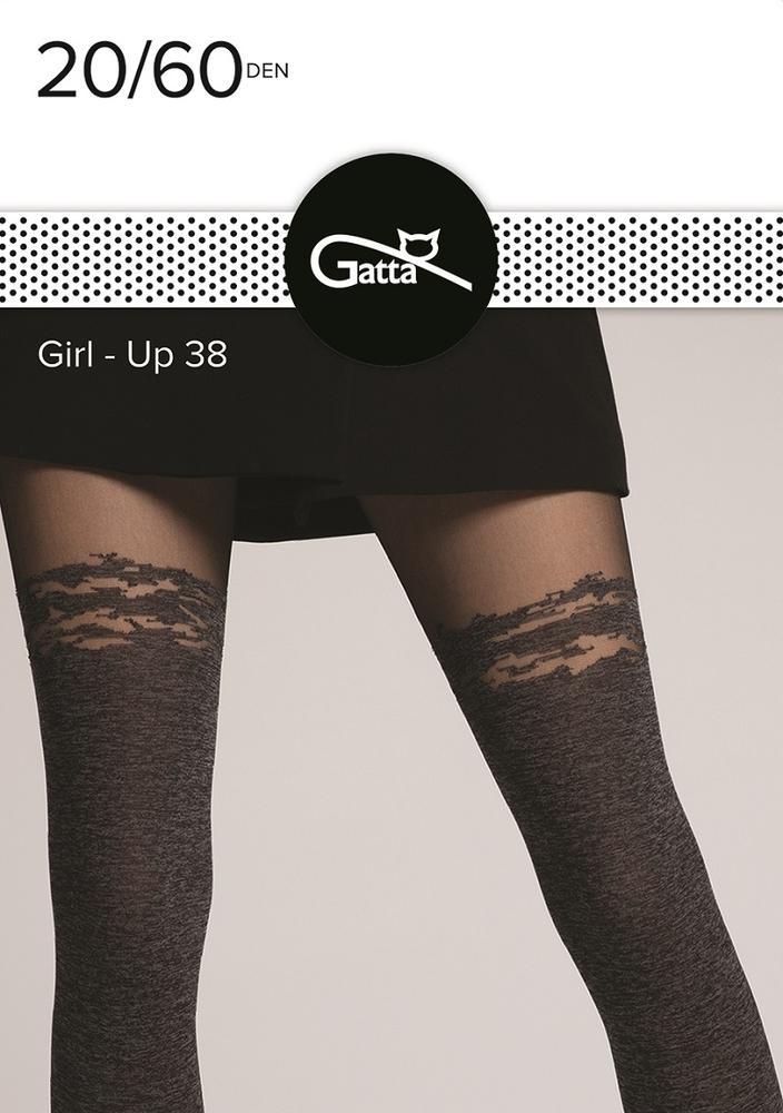 Rajstopy damskie wzorzyste Gatta Girl-up 40 den