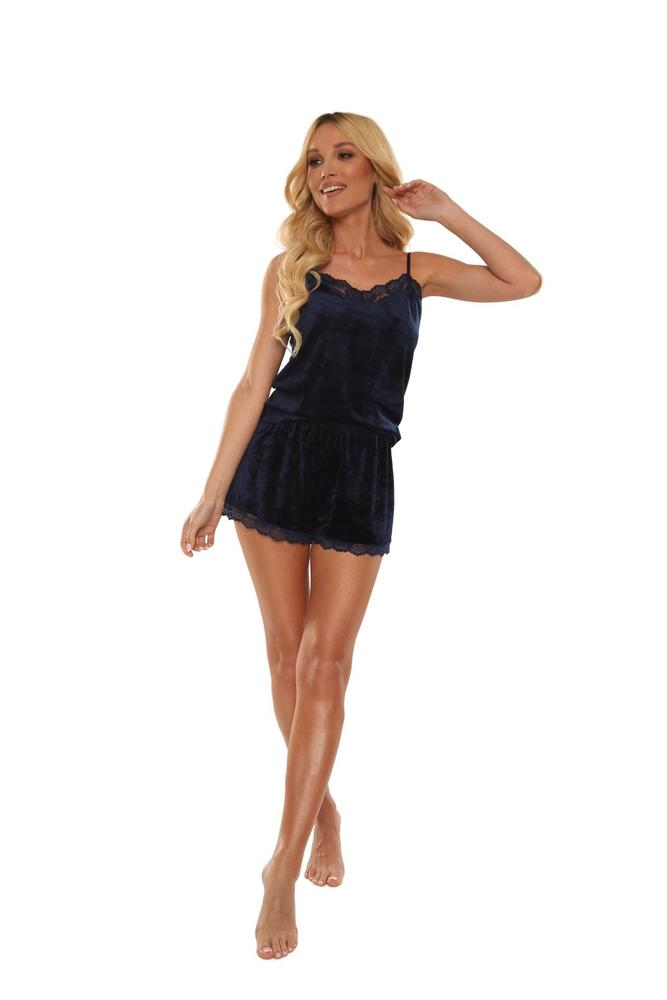 Piżama na ramiączkach + szorty milagros 613