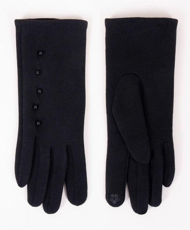 Rękawiczki damskie  z perełkami rs-072