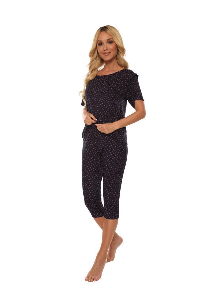 Piżama krótki rękaw + 3/4 spodnie olaya 500