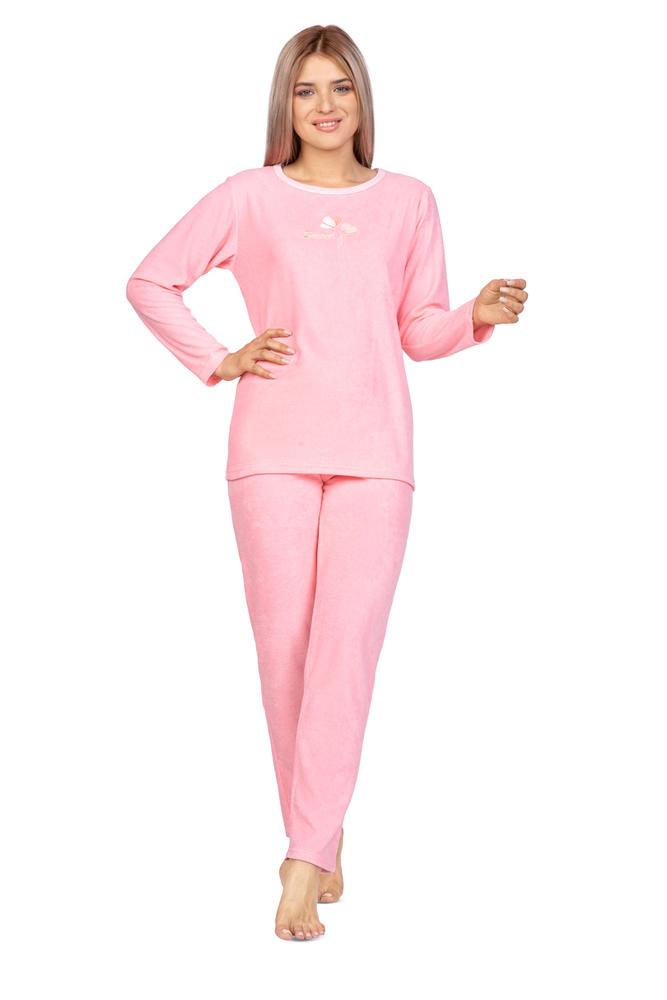 969 piżama damska frotte