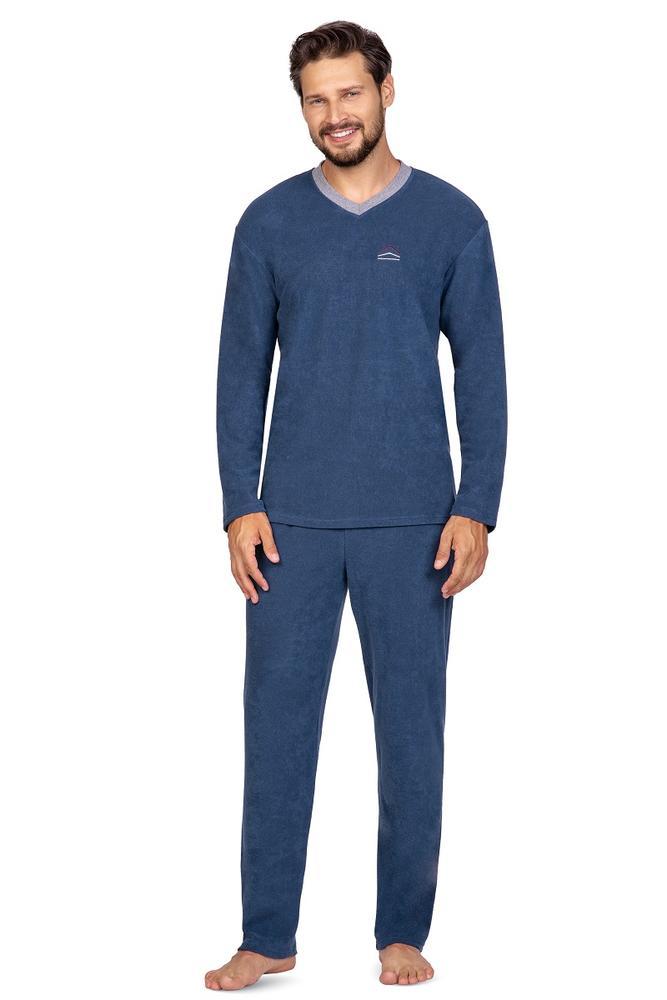 592 piżama męska frotte big