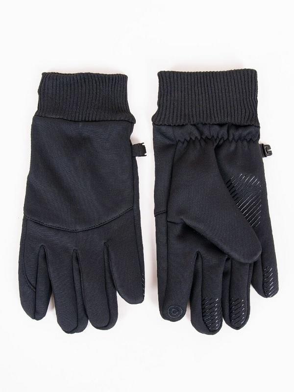 Rękawiczki męskie z mankietem dotyk rs-083
