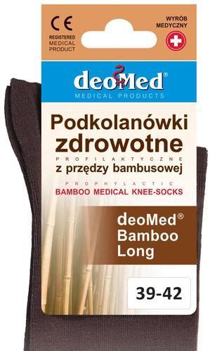 PODKOLANÓWKI DEOMED BAMBOO LONG Z PRZĘDZY BAMBUSOWEJ