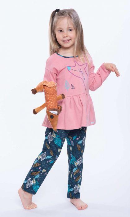 404171 piżama dziewczęca długi rękaw