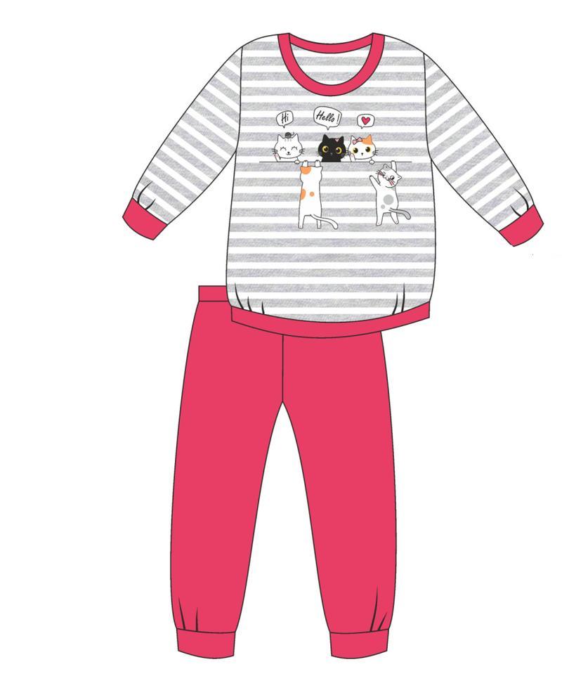 Piżama girl dr 474/149 hello