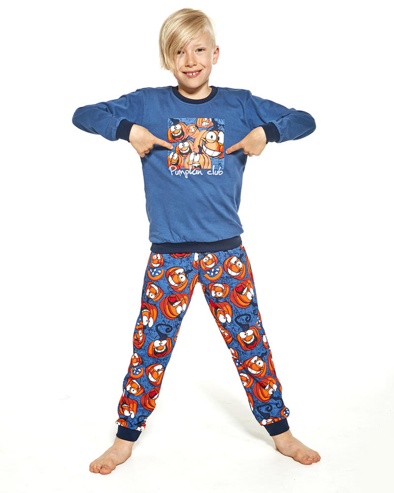 Piżama kids 976/123 pumpkin